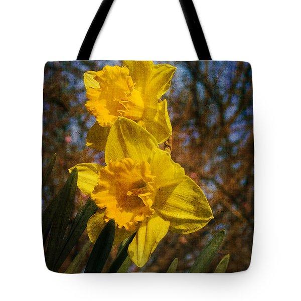 Spring Daffodils  Tote Bag by Brian Roscorla