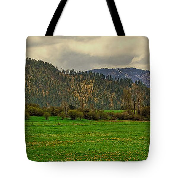 Tote Bag featuring the photograph Spring Dandylions by Sam Rosen