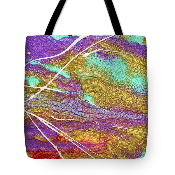 Spring Daydream Abstract Painting Tote Bag