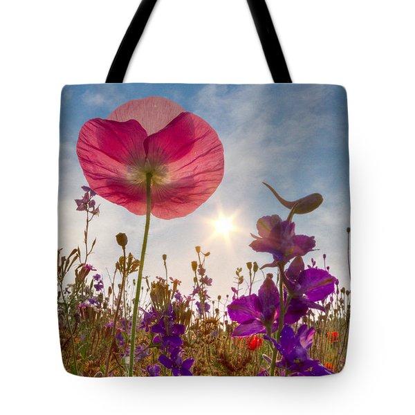 Spring   Tote Bag by Debra and Dave Vanderlaan