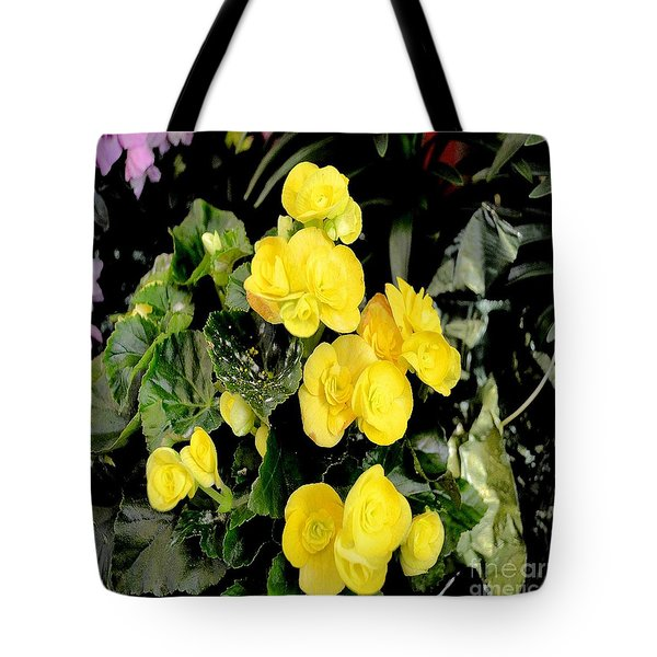 Tote Bag featuring the photograph Spring Delight In Yellow by Luther Fine Art