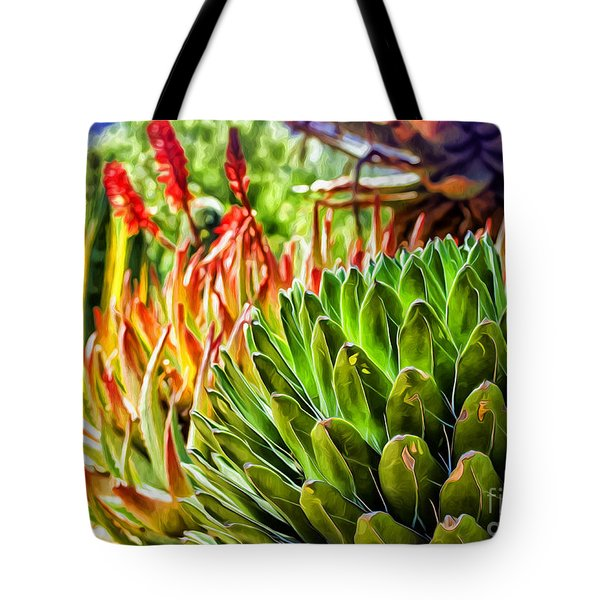 Spring Desert In Bloom Tote Bag