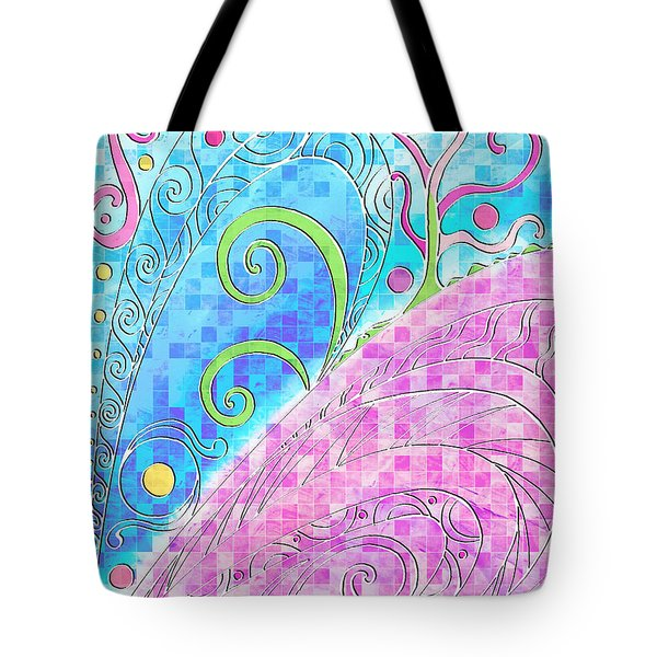 Spring Equinox Tote Bag by Shawna Rowe
