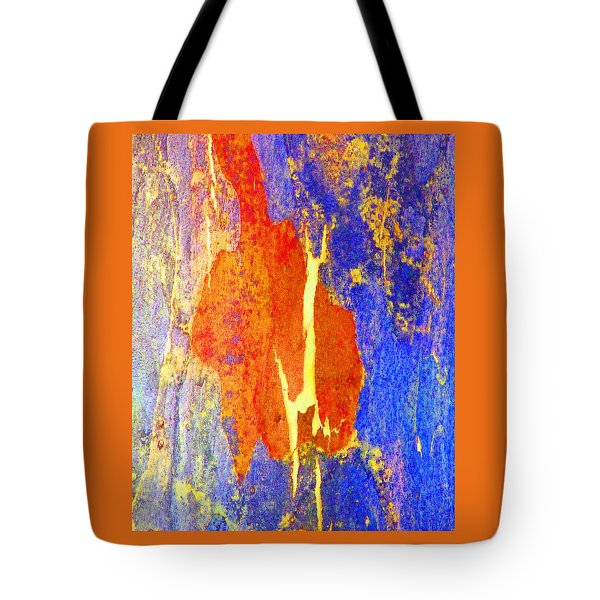 Spring Eucalypt Abstract 5 Tote Bag
