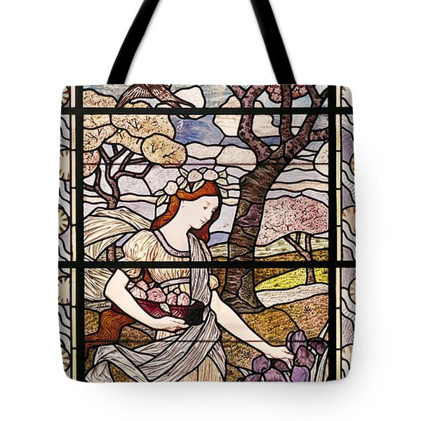 Spring Tote Bag by Eugene Grasset