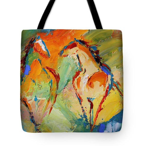 Spring Fever Horse 14 2014 Tote Bag