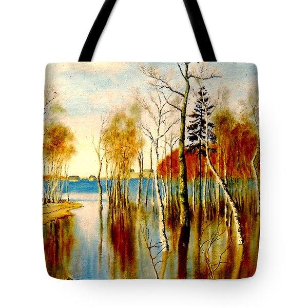 Spring Flood Tote Bag