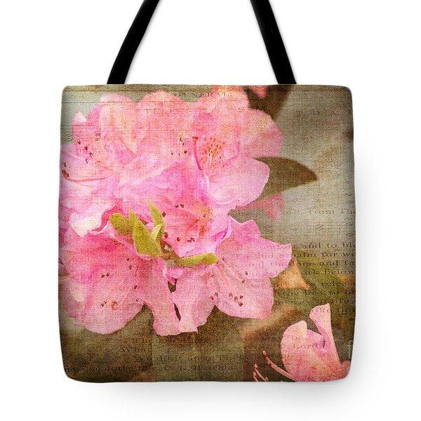 Spring Floral Tote Bag
