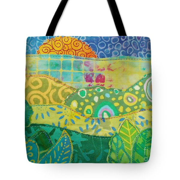 Spring Flourish Tote Bag by Susan Rienzo