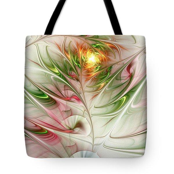 Spring Flower Tote Bag by Anastasiya Malakhova