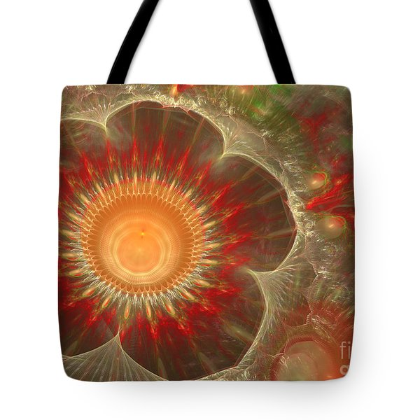 Spring Flower Tote Bag by Martin Capek