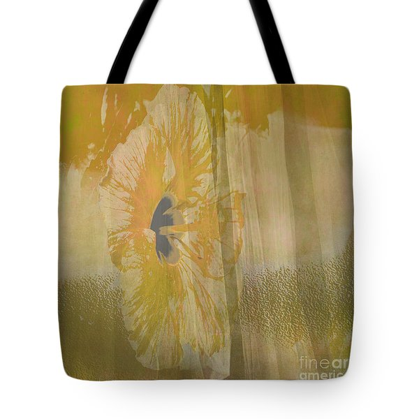 Spring Flower Unveiling Tote Bag