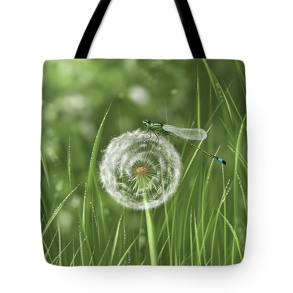 Spring Flowering Tote Bag by Veronica Minozzi