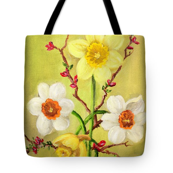 Spring Flowers 2 Tote Bag by Randy Burns