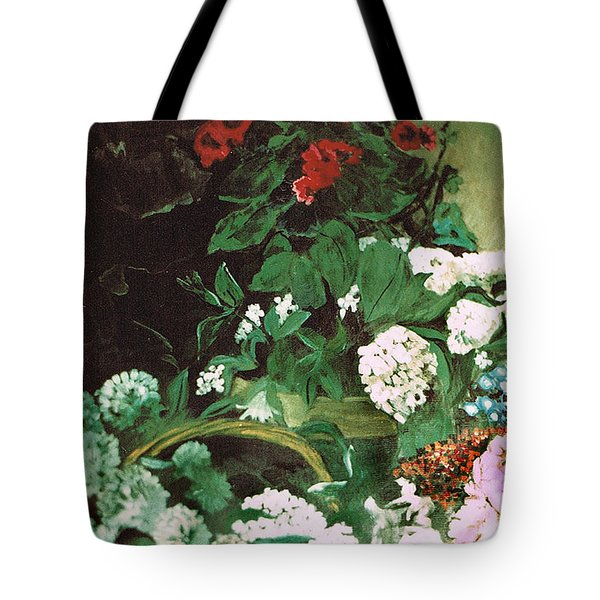 Spring Flowers Study Of Monet Tote Bag