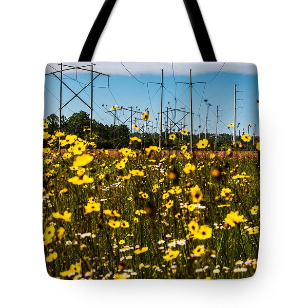 Tote Bag featuring the photograph Spring Flowers by Tyson Kinnison