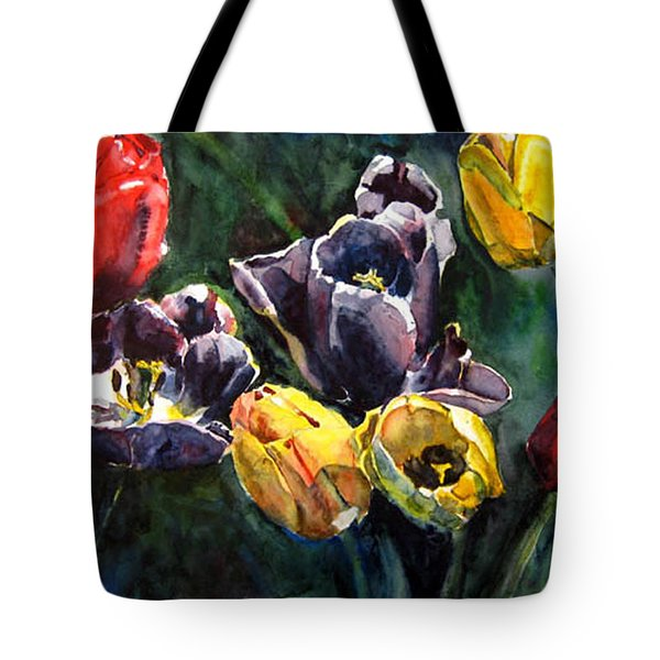 Spring Follows Winter Tote Bag