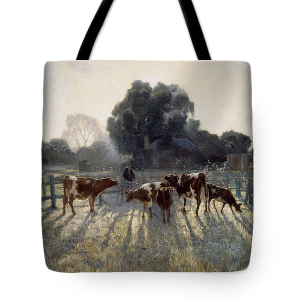 Spring Frost Tote Bag
