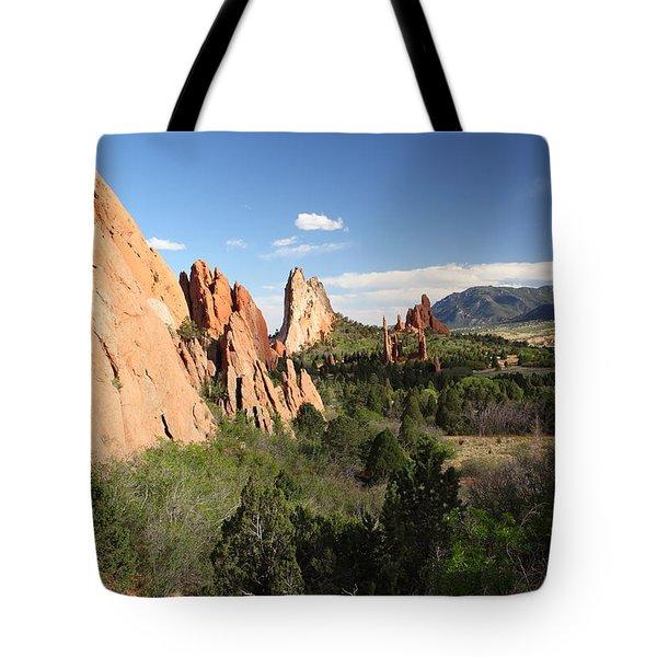 Spring Garden Tote Bag by Eric Glaser