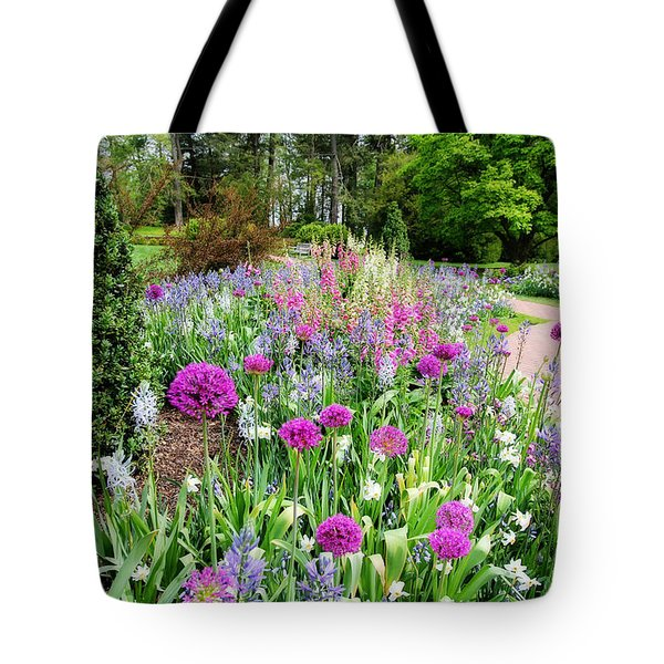 Spring Gardens Tote Bag