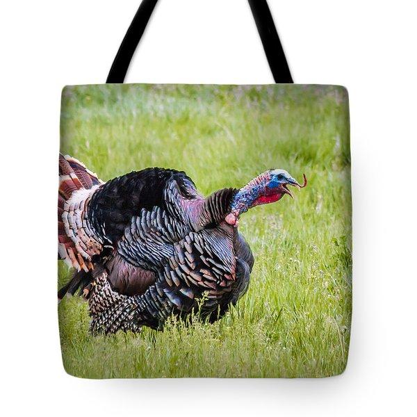 Spring Gobbler Tote Bag