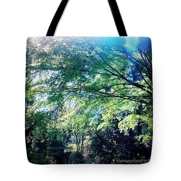Spring Greens 2 Tote Bag