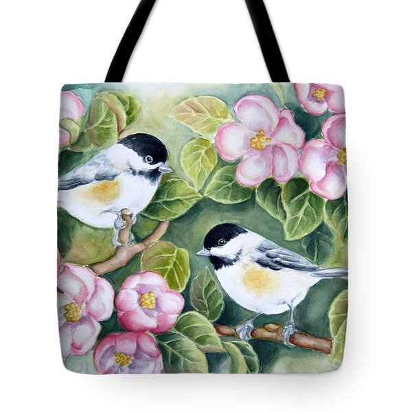 Spring Greetings Tote Bag by Inese Poga
