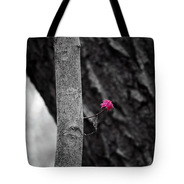 Spring Maple Growth Tote Bag