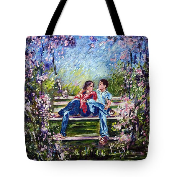 Spring Tote Bag by Harsh Malik