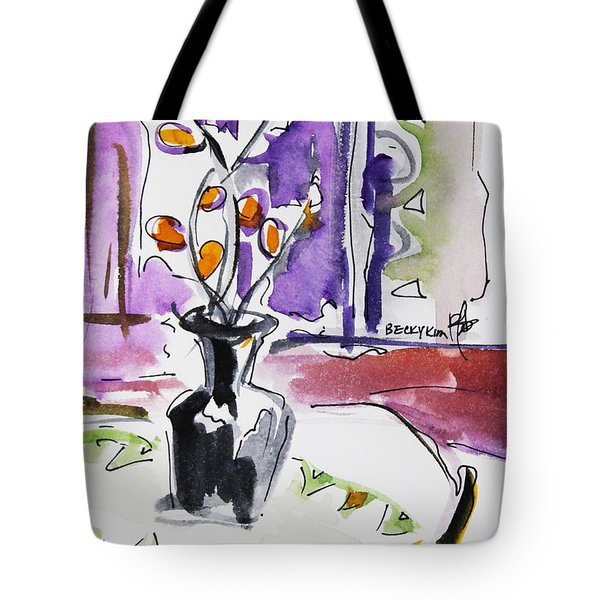 Spring Has Arrived Tote Bag by Becky Kim