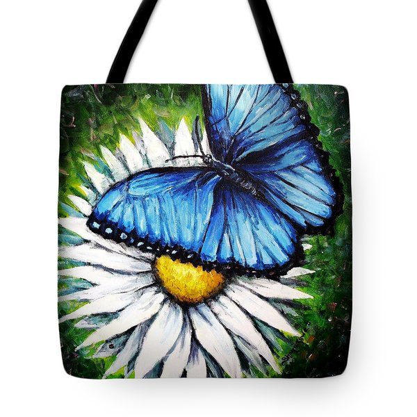 Tote Bag featuring the painting Spring Has Sprung by Shana Rowe Jackson