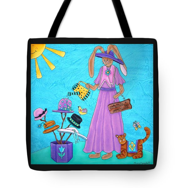 Spring Has Sprung Tote Bag by Tracy Campbell