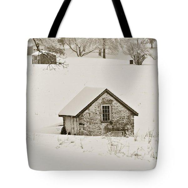 Spring In Boyertown Tote Bag by Trish Tritz