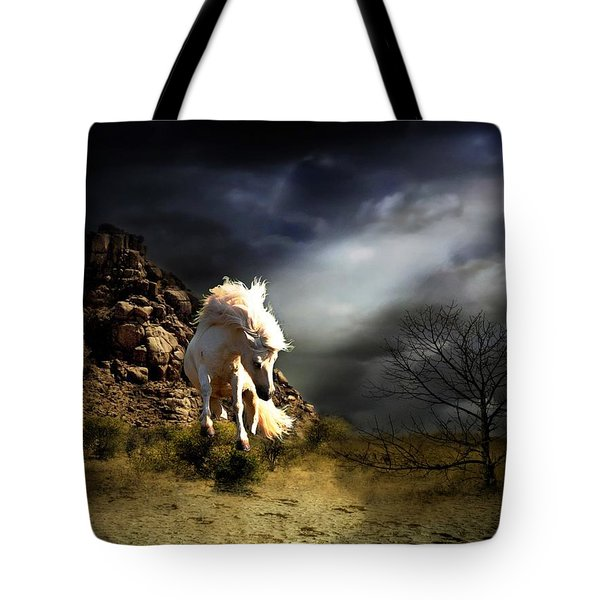 Spring In His Step Tote Bag by Davandra Cribbie