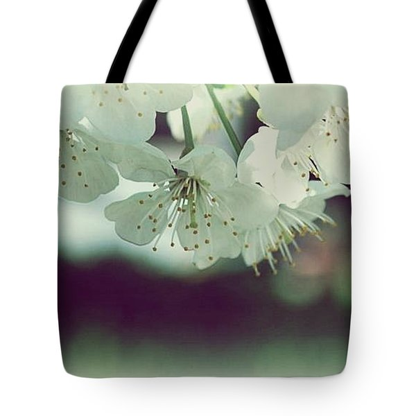 Tote Bag featuring the photograph Spring In My Heart by Marija Djedovic