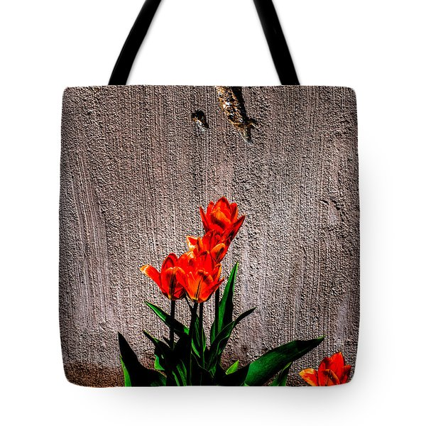 Spring In The City Tote Bag