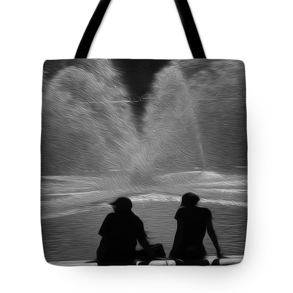 Tote Bag featuring the digital art Spring In The Metro by Kelvin Booker