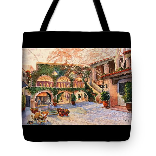 Spring In Tlaquepaque Tote Bag