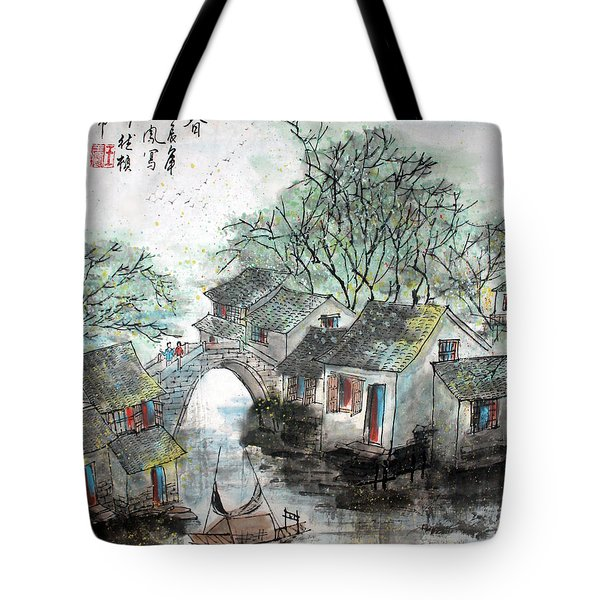 Spring In Watertown Tote Bag