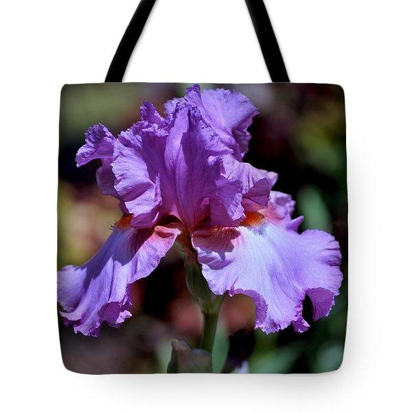 Spring Iris Bloom Tote Bag