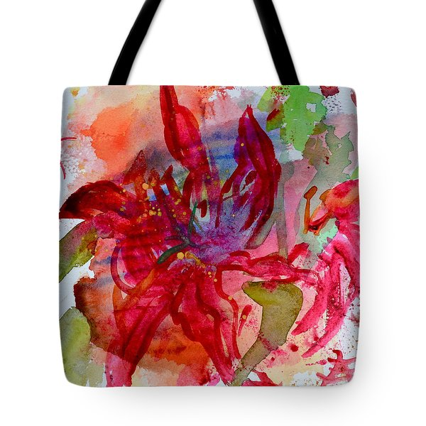 Spring Is A Messy Business Tote Bag by Beverley Harper Tinsley