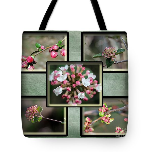 Spring Is Here - Green Tote Bag
