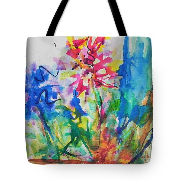 Spring Is In The Air Tote Bag by Chrisann Ellis