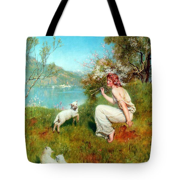 Spring Tote Bag by John Collier