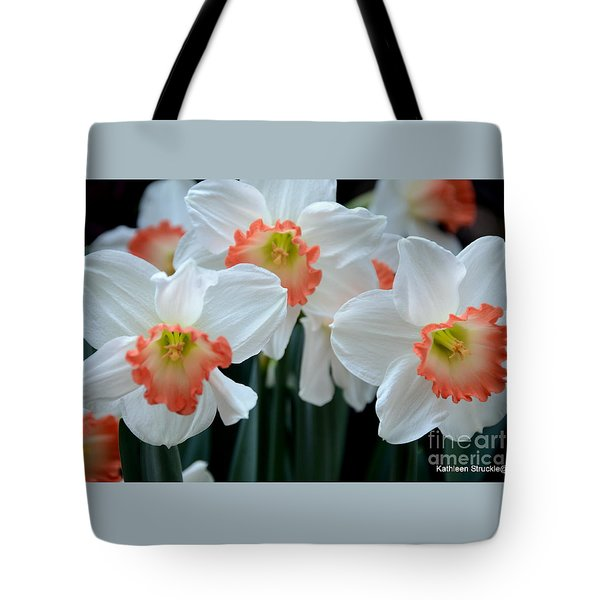 Spring Jonquils Tote Bag by Kathleen Struckle