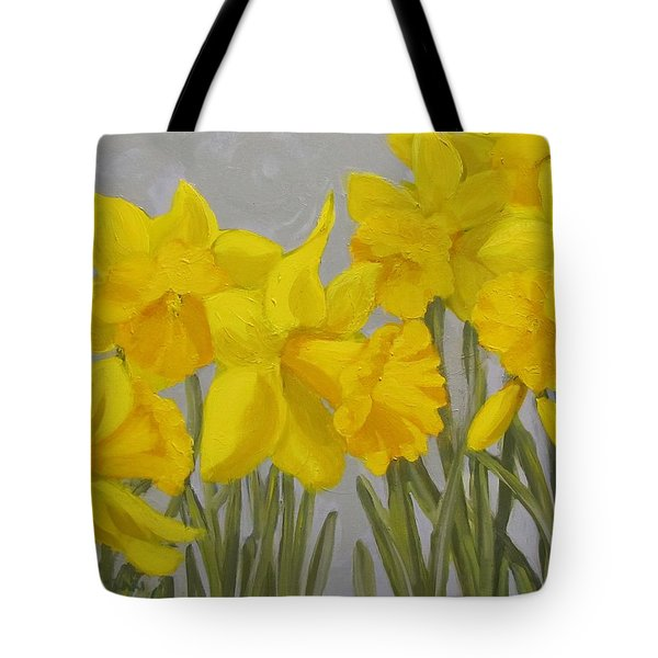 Spring Tote Bag by Karen Ilari