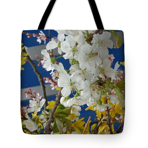 Spring Life In Still-life Tote Bag