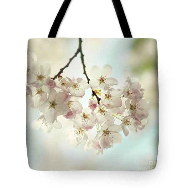 Tote Bag featuring the photograph Spring Light by Sylvia Cook