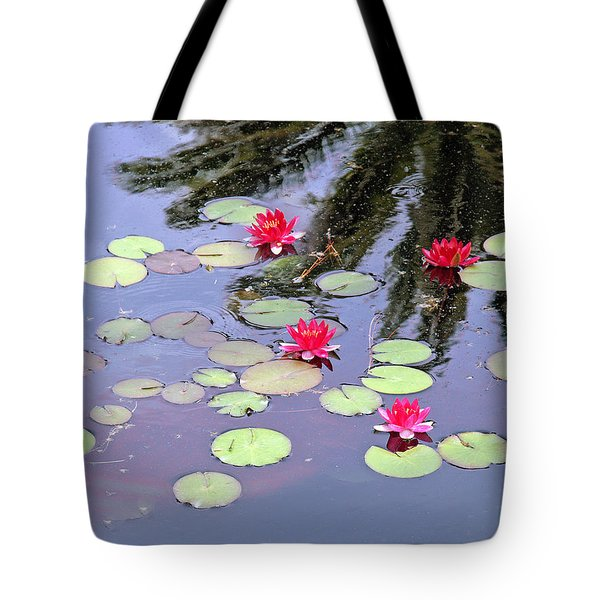 Spring Lilly Tote Bag