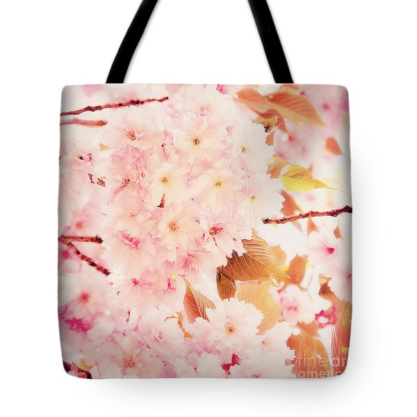 Spring Love Tote Bag by Angela Doelling AD DESIGN Photo and PhotoArt